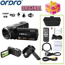 ORDRO HDV-Z8 1080P Full HD Digital Video Camera Camcorder 16× Zoom LCD 24MP D2L5