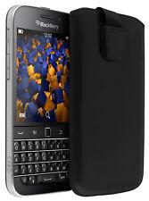 mumbi Ledertasche für BlackBerry Classic Tasche Hülle Etui Case Cover Schutz
