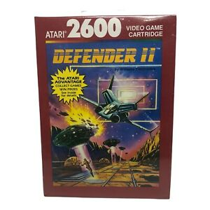 Atari 2600 Defender II Video Game Cartridge Sealed NOS