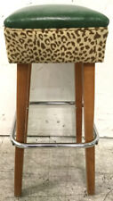 Leopard Print Accent Barstool Lot 2522