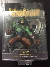 NEW Grom Hellscream Warcraft III Series 2 Toycom Action Figure Blizzard NIB
