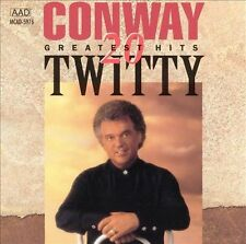 Conway Twitty - 20 Greatest Hits CD (MCA-1990) Disc only!