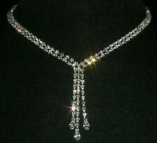 Graduated Marquis Drop Collar Necklace