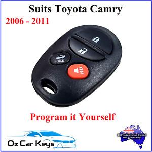 FOR TOYOTA CAMRY ALTISE SPORTIVO REMOTE NO KEY 2006 2007 2008 2009 2010 2011