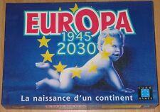 Jeu de société Europa - 1945 - 2030 - La naissance d'un continent - Euro Games