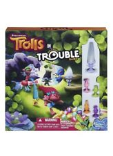 DreamWorks Trolls Figure Trouble Board Game Funny Party Games Gift for Kids Play