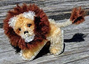 Antique Schuco Noah's Ark Miniature Mohair Lion Jointed 100% Orig.
