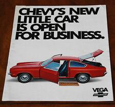 Chevrolet Vega brochure Prospekt, 1971