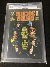 Suicide Squad 1 CGC 8.5 WP Copper Age Key DC Comic 1st Issue in Title