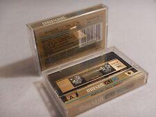 Lot of 2 Vintage Maxell UD XL II C90 Cassette Tape Hi Level Bias Cro2 Chrome