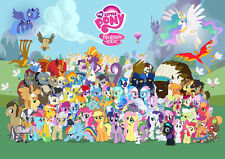 My Little Pony Glossy A4 260GSM Poster Print