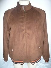 Polo Ralph Lauren Suede Harrington/Bomber Jacket,XL
