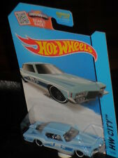 Hot Wheels '71 Buick Riviera USA only Boot~tail in baby-blue