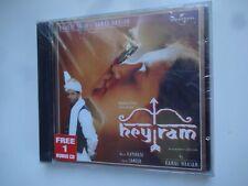 HEY RAM ~ 2-Disc Bollywood soundtrack Hindi CD ~ ilayaraja ~ 2000 ~ new