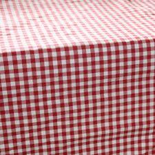 Vichy Rouge Nappe rectangle 150 x 300 cm