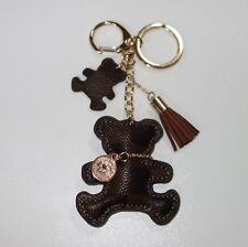 S149 - Schlüsselanhänger Taschenanhänger - NEU - Braun Teddybär Bär Teddy Süß