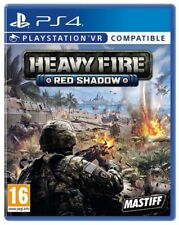 HEAVY FIRE: RED SHADOW PS4 ITALIANO GIOCO PLAY STATION 4 VR NUOVO WAR SIGILLATO