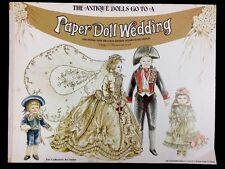 Vintage 1976 The Antique Dolls Go To A Paper Doll Wedding The Evergreen Press