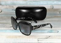 COACH HC8166 534811 Black Crystal Mosaic Grey Gradient 58 mm Women's Sunglasses