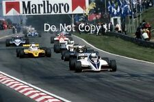 Riccardo Patrese Brabham BT50 Belgian Grand Prix 1982 Photograph 2