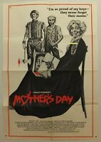 MOTHERS DAY MOVIE POSTER Style A 1980 HORROR Charles KAUFMAN Vintage NOT A REPRO