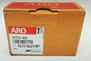 ARO Ingersoll Rand Air Line Regulator-3/8 in 113 CFM 250 PSI # R37231-600