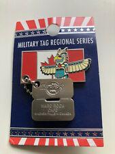 Hard Rock Café Niagara Falls CDN Military Tag Regional Series !! Ungebraucht !!