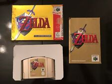 The Legend of Zelda Ocarina of Time - Nintendo 64 N64 Boxed PAL
