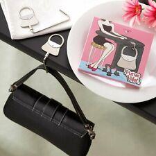 Metal Reversible Folding Purse Handbag Safety Table Hook Valet