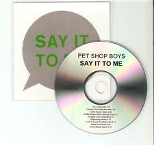 "PET SHOP BOYS ""SAY IT TO ME"" RARE BRAZILIAN 9 REMIX CD PROMO"