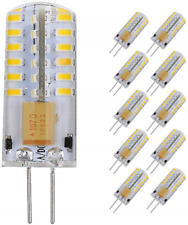 Pocketman 10 Pack 3 Watt AC/DC 12V G4 LED Lighting Bulbs, Equivalent to 20W Warm