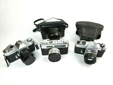 Yashica Camera Lot J-5, TL Super w Case, Electro 35 w Case