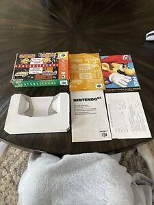Nintendo 64 N64 Game Namcomuseum 64 Box, Manual and Inserts No Game
