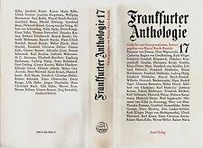in- REICH-RANICKI : FRANKFURTER ANTHOLOGIE  BAND 17 *