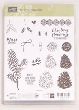 "Stampin' Up! Stempelset Photopolymer ""Christmas Happiness"" NEU Weihnachten"