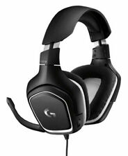 Logitech G332 Special Edition Wired Over the Ear Gaming Headset - Black/Whtie (981-000831)