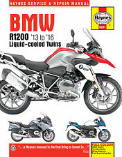BMW R1200GS R1200R R1200RT DOHC 2013 - 2016 WATER COOLED Haynes Manual 6281 NEW