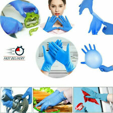 25 Pair Nitrile Disposable Exam Gloves Latex Powder Free Medium