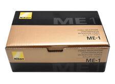 Nikon ME-1 Micrófono Estéreo para Cámaras Digitales con Parabrisas y Funda