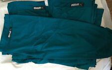 Lot of 3 Game Used XL Green San Jose Sharks Reebok Edge practice socks