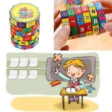 Kids Mathematics Numbers Magic Cube Toy Twist Puzzle Brain IQ Teaser Training AU