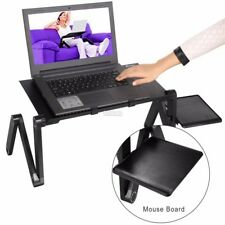 Computer Desk Portable Adjustable Foldable Laptop Notebook Lap PC Folding Table