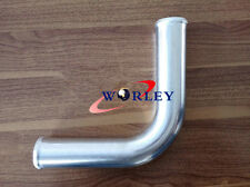 "63MM 2.5"" inch 90 Degree Elbow Aluminium Turbo Intercooler Pipe Tube Tubing hose"