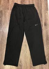 Men's Nike Sz L Black Therma Fit Sweat Pants EUC