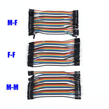 120Pack 11cm Dupont Jumper Wire Ribbon Cables For Arduino Breadboard F-F/M-M/M-F