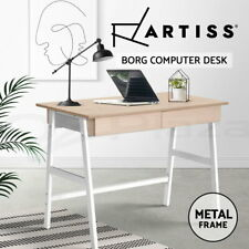 Artiss Computer Desk Laptop Table Metal Desks  with Drawers Home Office Study
