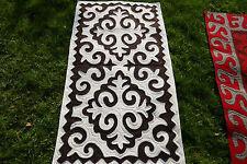 165 x 95cm Filz Teppich Shirdak Schirdak Shyrdak Kyrgyzistan tappeto rug Kilim