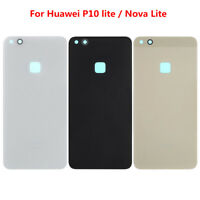 Battery Back Door Rear Glass Cover Case Housing Replacement For Huawei P10 Lite