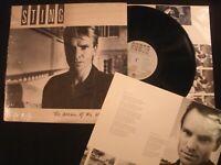 STING - The Dream Of The Blue Turtles - 1985 Vinyl 12'' Lp./ Shrink Ex/ 80's Pop