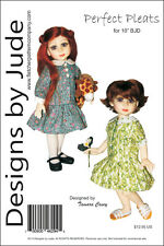 "Pleated Dress Pattern 10"" Bjd Dolls Creedy"